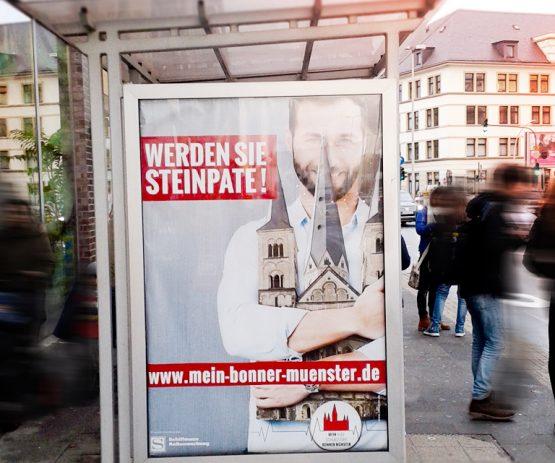 Citylights fürs Bonner Münster